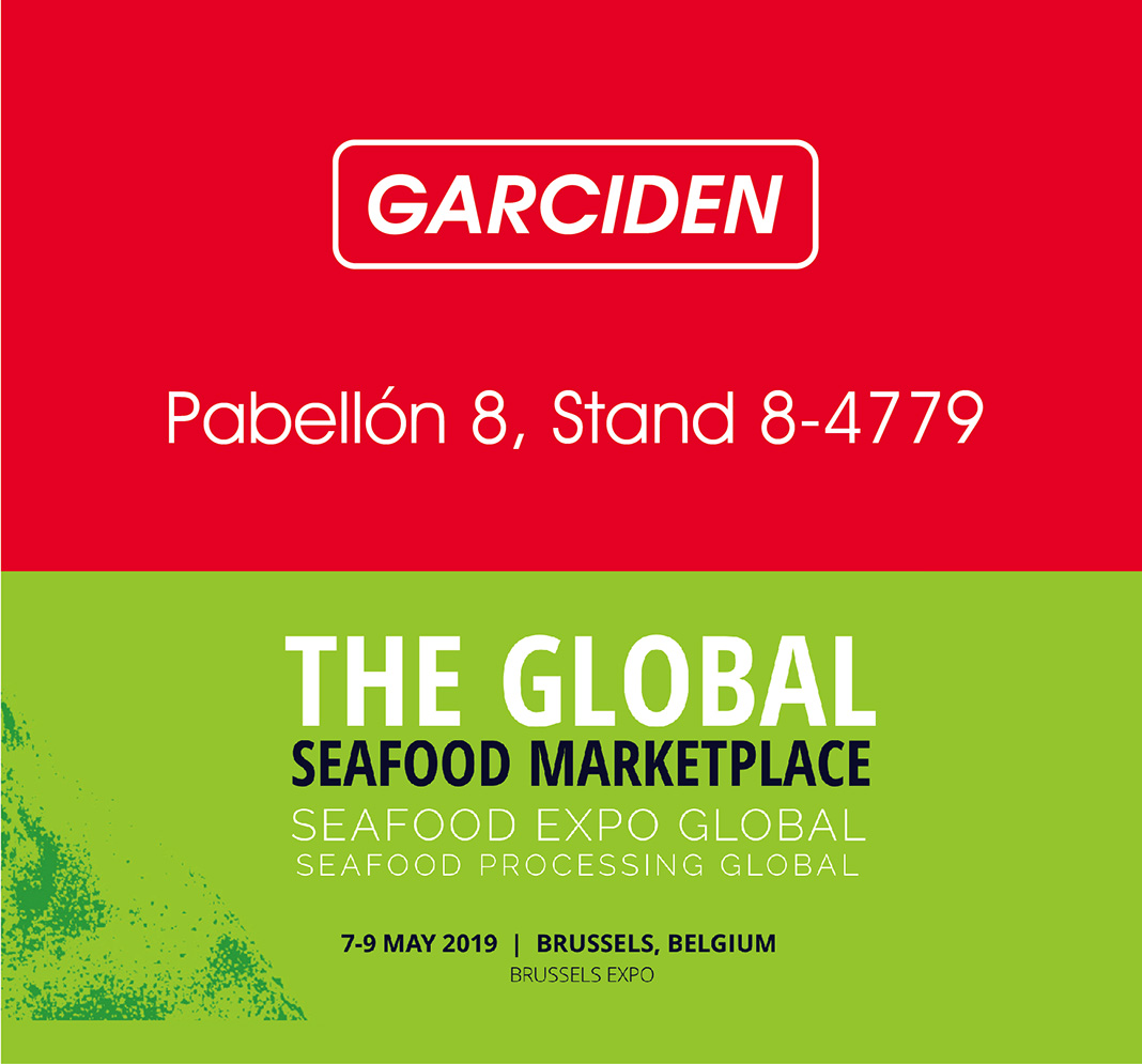 Garciden - Seafood Global Expo - Bruselas